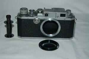 Canon IVsb /4SB RARE 1952 Japanese Rangefinder Camera. Service. 134273. UK Sale