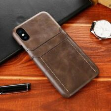 Luxury Business Phone Case Faux Leather Handmade Cover for iPhone 11 X XR XS 7 8