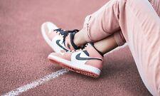 Nike Air Jordan 1 Mid Pink Quartz PS Kids UK11.5 US12 EU 29.5 Pre School Digital