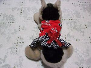 dog cheer dress,Univ.of Georgia Bulldogs,short&sassy, XXXS*(read size details)