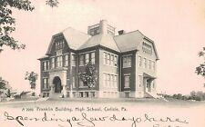 Carlisle,PA.High School,Franklin Building,Cumberland County,Used,1906