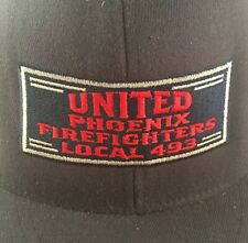 United Phoenix Firefighters Local 493 Embroidered Baseball Cap Hat Fitted 7 1/4