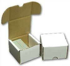 Sport Images 200 Count Cardboard Trading Card Storage Boxes X 5 NEW
