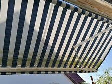 Gelenkarmmarkise Handbetrieben 4m x 2,50 und Vertikalmarkise