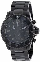 Swiss Legend Men's Sergeant Chronograph Black Dial Stainless Steel Watch
