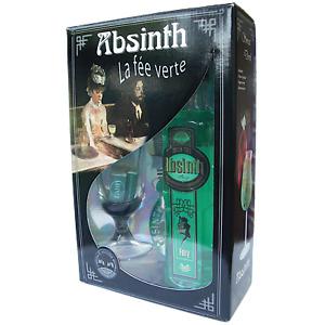 Absinth Stromu Geschenkset - 70 % - 0,7L + Glas + Löffel !