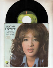 Ronnie Spector Try Some Buy Some Apple 45 & Pic Sleeve Beatles Harrison