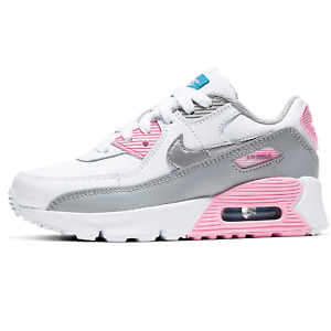 Nike Air Max 90 LTR (PS) Children Classic Sneaker Shoes Trainer white CD6867 004