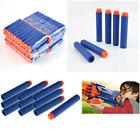 100pcs Bullet Darts For NERF Kids Toy Gun N-Strike Round Head Blasters #S Blue