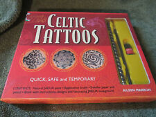 CELTIC TATTOOS QUICK, SAFE AND TEMPORARY~JAGUA PAINT