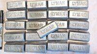 20 lbs of clean lead Ingots - For casting bullets, sinkers, jigs, Bh 10-12,