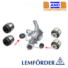 BMW E81 E82 E87 E88 E90 E91 REAR LOWER BALL JOINTS MOUNT BUSHES LEMFORDER A1280