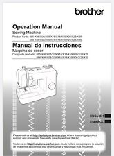Brother Lx2763 Sewing Machine Owners Instruction Operation Manual Reprinted Copy