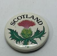 Vintage Scotland Pin Button