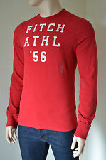 Abercrombie & Fitch Men's Graphic Cotton Long Sleeve T-Shirts