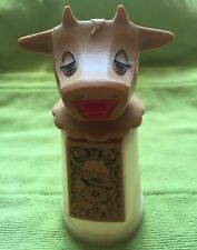 Vtg Moo Cow Creamer/Syrup Dispenser By Whirley Ind. Usa