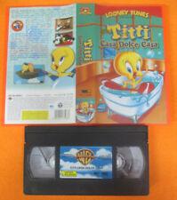VHS film TITTI CASA DOLCE CASA 2003 animazione LOONEY TUNES WARNER (F48) no dvd