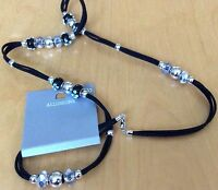 """ILLUSIONS 32"""" BEAD AND LACE NECKLACE FROM ALLUSIONS. BNWT"""