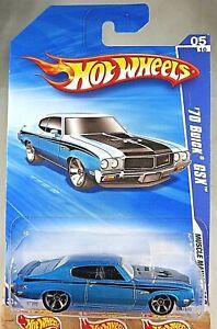 /'70 Buick GSX #109 E23 2012 Hot Wheels Dark Blue