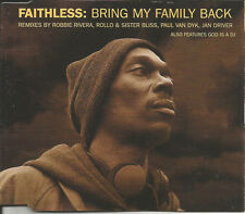 FAITHLESS Bring My Family back / God 6TRX 4 MIXES CD single SEALED Paul Van Dyk