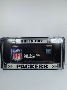 Green Bay Packers NFL License Plate Frame Official Merchandise