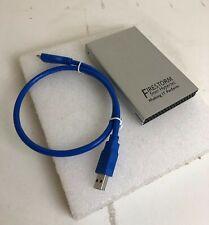 Hypertec Firestorm 1TB Sata USB3  External Hard Drive With USB C - USB A Cable