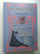 Pommern in Wort und Bild Reprint 1904 / 1998