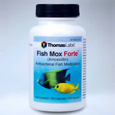 Fish Mox Forte 500 mg 100 Count Aquarium Treatment