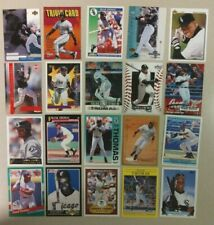 20 Card Lot of Different FRANK THOMAS HOF A must for any collector! FREE S&H!!