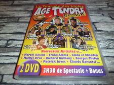 LA TOURNEE DES IDOLES AGE TENDRE  SAISON 4  DVD