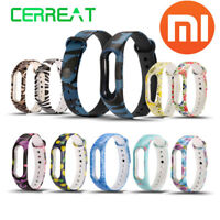 Wrist Strap Belt Silicone Colorful Wristband for Xiaomi Mi Band 2