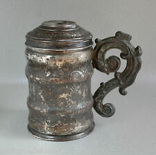 Storicismo Piccolo Boccale di metallo-Neo Rinascimento-circa 1850