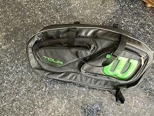 New Wilson Tour 15 Pack Tennis Bag Black