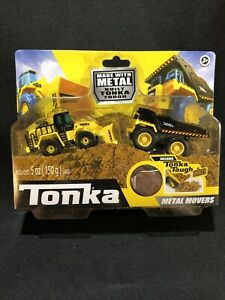 Tonka Metal Movers Front End Loader & Mighty Dump Truck Tonka Metal Tough Dirt