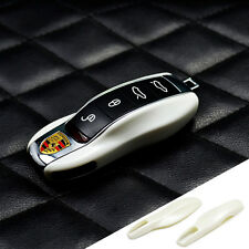 Pearl White Remote Key Case Cover fit Porsche boxster cayman 911  Cayenne Macan