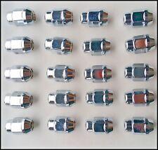 20 Chrome Lugnuts Lug Nuts fit OEM Factory GM Buick Cadillac Chevy Pontiac Wheel