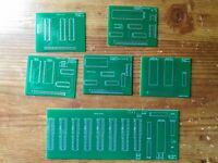 8088 Motherboard blank PCBs. Minimum mode, includes 5 add on cards. home built