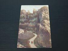 Postcard of Castle Rock Cheddar Vintage postcard (PB1)