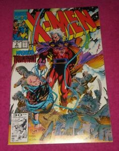 X-MEN #2 NM 9.4 SIGNED STAN LEE! ACOLYTES 1 OMEGA RED KEY ISSUE! NICE! L@@K!