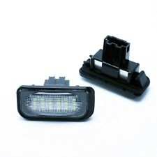 2x LED LICENSE NUMBER PLATE LIGHT CHRYSLER CROSSFIRE COUPE CANBUS