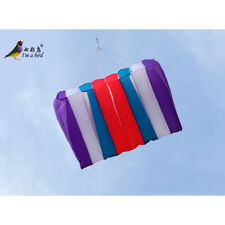 NEW Single line RED BLUE Power Eight Holes Umbrella kite good fly surfing sports