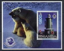 2005 Roald Amundsen S/S #3 Faro Scout emblema de oso polar antártico