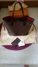 Authentic Louis Vuitton Damier Ebene Neverfull MM with receipt
