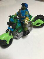 Teenage Mutant Ninja Turtles Donatello On Motorcycle 2014