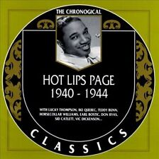 HOT LIPS PAGE 1940-44 CLASSICS CD NEW SEALED LONG OUT OF PRINT