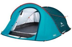Decathlon Quechua 2 Second, 3 Person Waterproof Pop-Up Camping Tent 8lbs