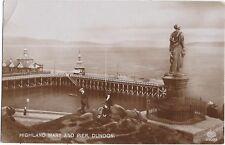 PIERS : DUNOON-Highland Mary and Pier,Dunoon RP-SCHWERDTLEGER
