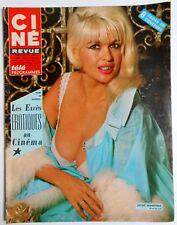 ►CINE REVUE 14/1967-JAYNE MANSFIELD-CLAUDIA CARDINALE-ANNE BAXTER-PETER Mc ENERY