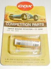 1960's Vintage COX controller 15 ohm Taper Wound Resistor #3403 slot car NOS