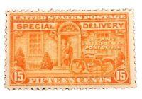 #E16 us/usa 1931 special delivery stamp og mint H